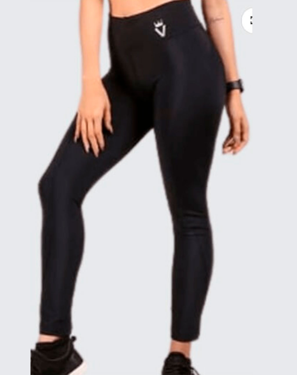 Leggings lisos - negro
