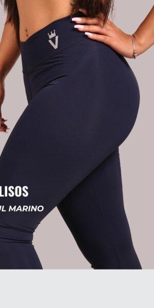 Leggings lisos - Azul Marino - foto02