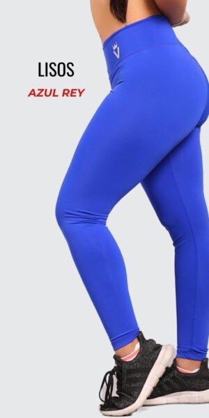 Leggings lisos - Azul Rey - foto03